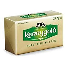 block of Kerrigold butter